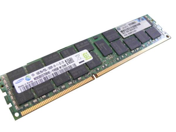 Модуль памяти HP 16GB DDR3 1333MHz (1x16GB, 2Rx4, 1.35V) PC3L-10600 CL9 ECC