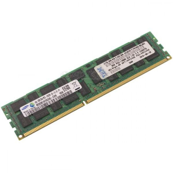 Память HP 8GB DDR3 ECC REG PC3L-10600R 2Rx4