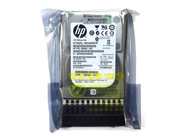 """Жесткий диск HP 1TB 7.2K SAS MSA 2.5"""""""