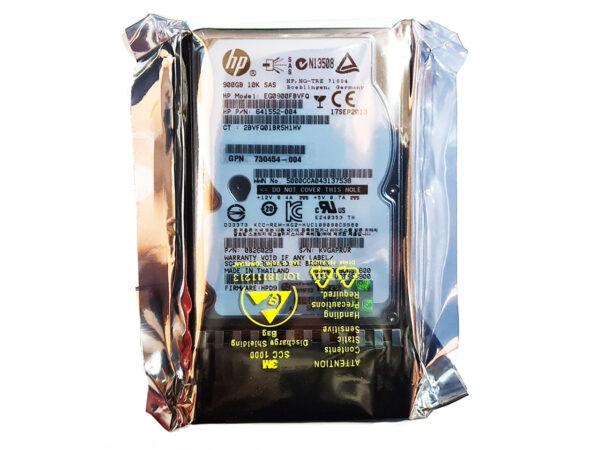 HP 900GB 10K SAS 6G SFF MSA