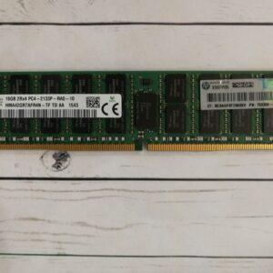 Оперативная память HP 16GB DDR4 ECC PC4-2133P 2Rx4